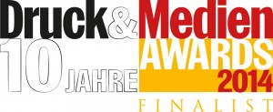 Finalisten-Logo Druck&Medien Awards
