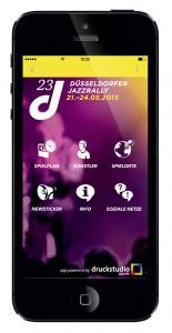 JazzRally App iPhone